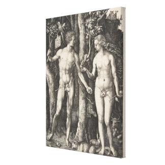 Toile Adam et Ève, 1504