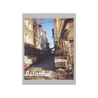 Toile Affiche du marché d'Istanbul