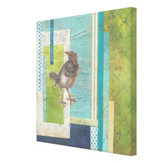 Toile Album aviaire I