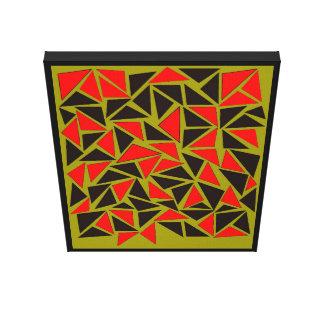 Toile Amusement avec des triangles