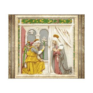Toile Ange Gabriel l'annonce à Mary