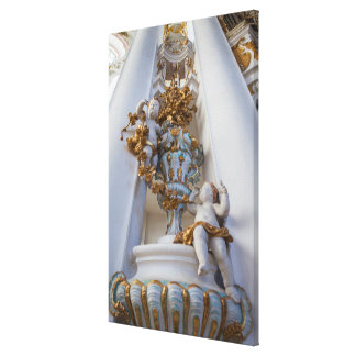 Toile Anges dans l'église de Wieskirche