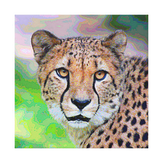 Toile AnimalPaint_Cheetah_20171201_by_JAMColors