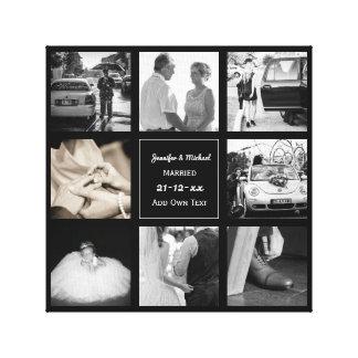 Toile Anniversaire de renouvellement de voeu de mariage