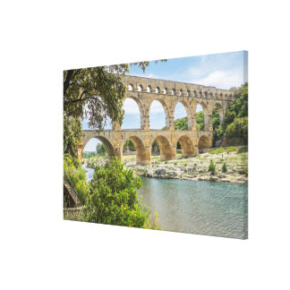 Toile Aqueduc romain antique
