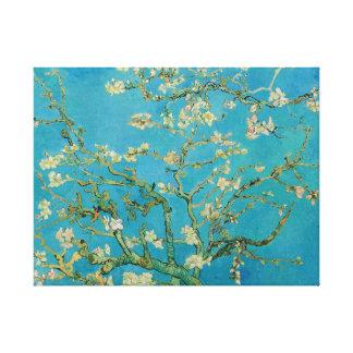 Toile Arbre d'amande de floraison par Van Gogh