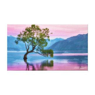 Toile Arbre Nouvelle Zélande de Wanaka