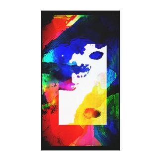 Toile Arc-en-ciel abstrait de couleurs