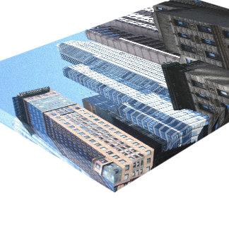 Toile Architecture NYC de Salut-Hausse de photographie