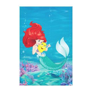 Toile Ariel | font l'heure pour des amis