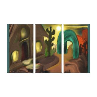 Toile Art abstrait du sud-ouest de mission espagnole