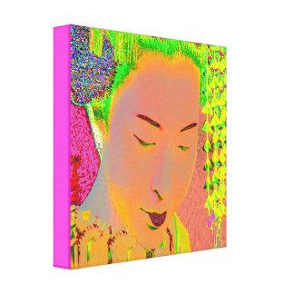 Toile Art de bruit de geisha