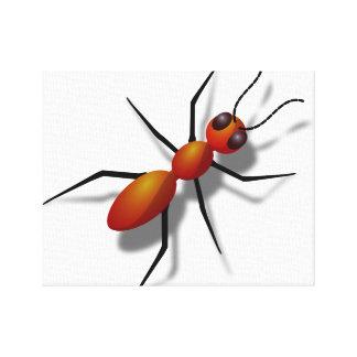 Toile : Art de mur de fourmi