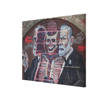Toile Art de rue de Sigmund Freud