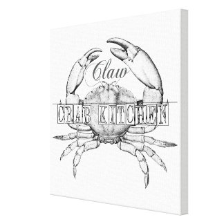 Toile Art factice de restaurant de fruits de mer de