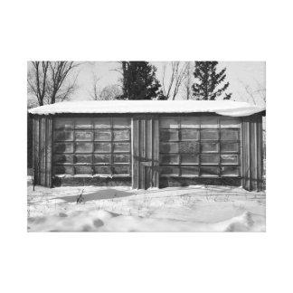 Toile Art industriel du Michigan de péninsule supérieure