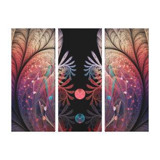 Toile Art moderne abstrait de fractale d'imaginaire de
