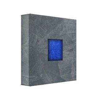 Toile Art moderne bleu-foncé de gris d'ardoise