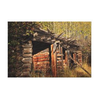 Toile Art rustique de cabine