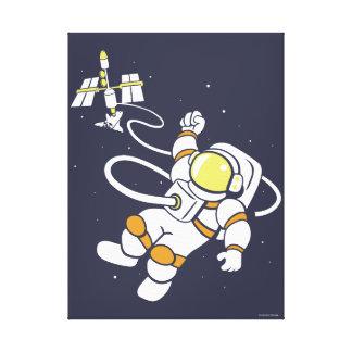 Toile Astronaute