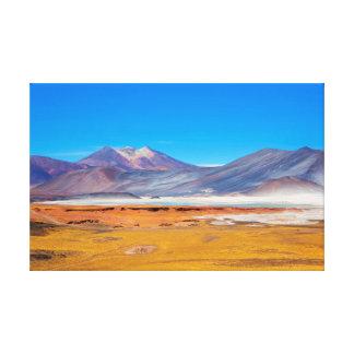 Toile Atacama Salt Lake
