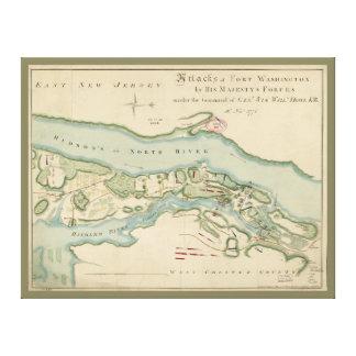 Toile Attaques de carte de Washington de fort (16