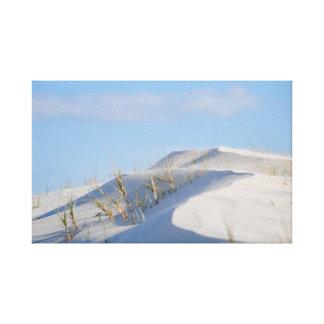 Toile Au delà de la dune