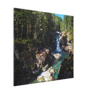 Toile Automnes d'argent, parc national de mont Rainier