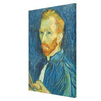 Toile Autoportrait de Vincent van Gogh  , 1889