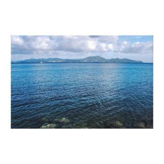 Toile Baie des flamands en Martinique