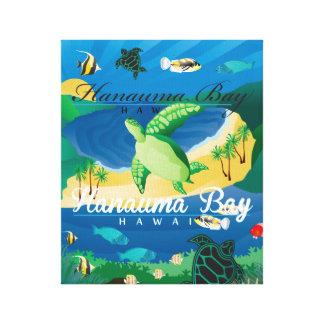 Toile Baie Hawaï de Hanauma