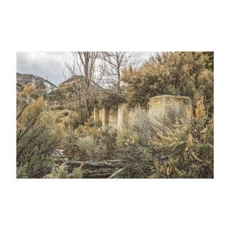 Toile Base de ville fantôme ;  Standardville, Utah