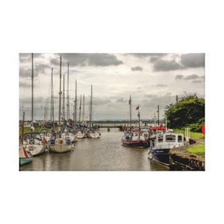 Toile Bateaux au port de Lydney