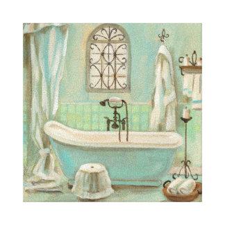 Toile Bath en verre de tuile