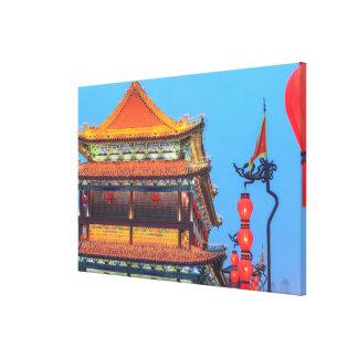 Toile Bâtiment de mur de ville de Xi'an
