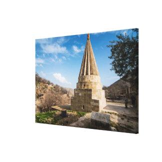 Toile Bâtiment kurde de temple