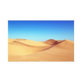 Toile beau désert