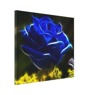 Toile Beau rose de bleu