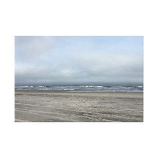 Toile Beauté et une plage