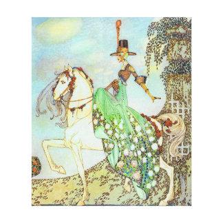Toile Beaux-arts de princesse Minon Minette Kay Nielsen