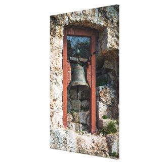 Toile Bell au fort de St Michael, Croatie