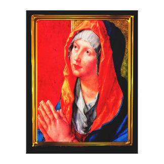 Toile Betende Maria
