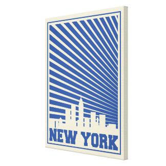 Toile Bleu de New York City