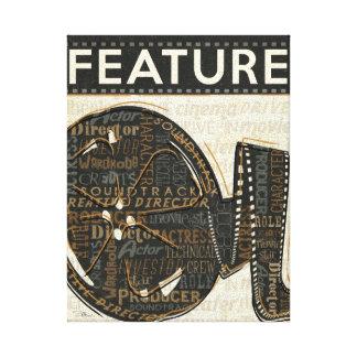 Toile Bobine de film vintage