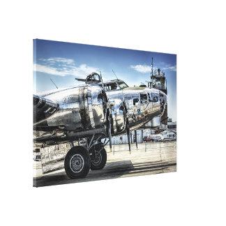 Toile Bombardier classique du 2ème guerre mondiale b-17