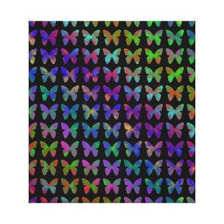 Toile Bonheur de papillon