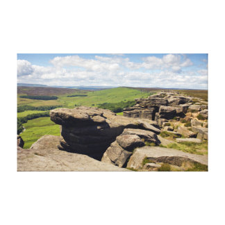 Toile Bord de Stanage, photo de Derbyshire