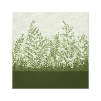 Toile botanique d'illustration de plante