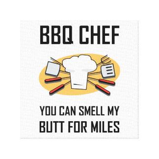Toile Bouts d'odeur de chef de BBQ