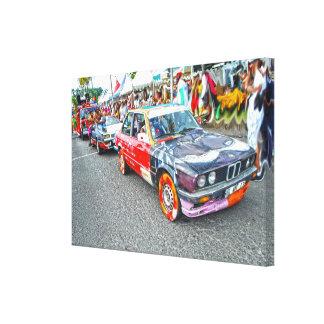 Toile Bradjak de carnaval en Martinique